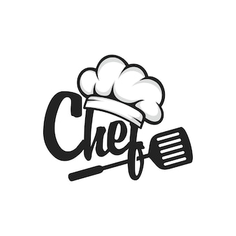 Wektor logo szefa kuchni