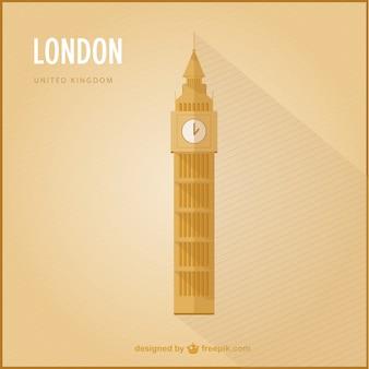 Wektor londyn góry
