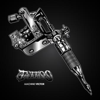 Wektor maszyna do tatuażu