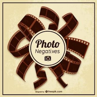 Wektor negatywów zdjęć