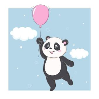 Wektor panda
