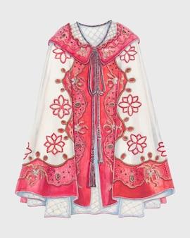 Wektor płaszcza z opery w stylu vintage, remiks z grafiki autorstwa al curry