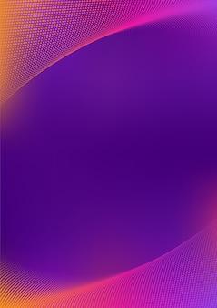 Wektor półtonów z żywymi gradientami abstrakcyjne tło projektu