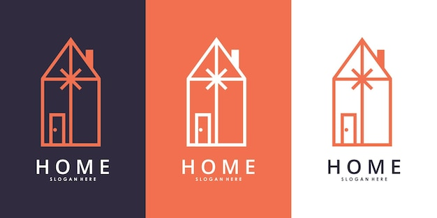 Wektor projektu logo specjalnej edycji prezentu z wizytówką