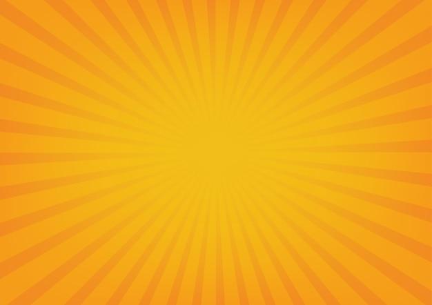 Wektor Promienie Słońca Premium Wektorów