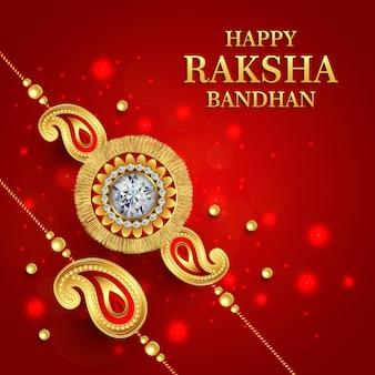 Wektor raksha bandhan