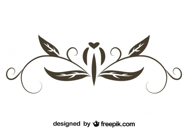 Wektor retro projektu kaligraficzne
