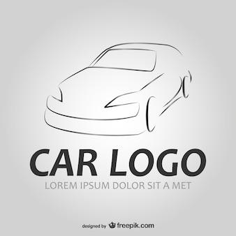 Wektor samochód logo