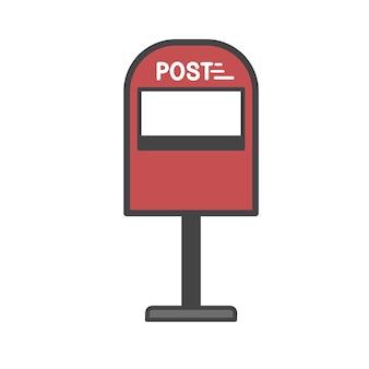 Wektor skrzynka pocztowa