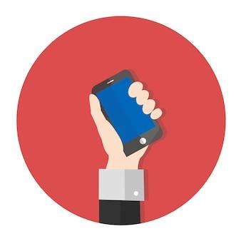 Wektor smartphone