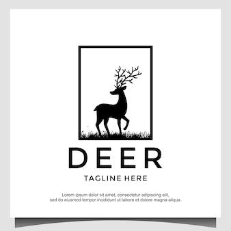 Wektor szablon projektu logo jelenia