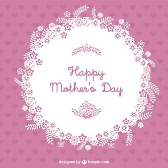 Wektor szczęśliwy dzień matki
