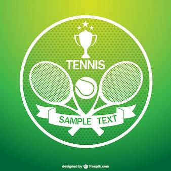 Wektor sztuki turniej tenisowy