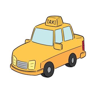 Wektor taksówki