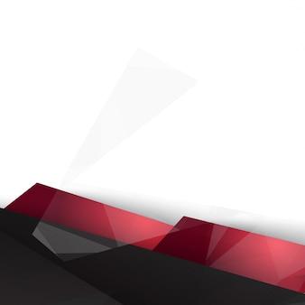 Wektor tła abstrakcyjne wieloboku trójkąty.