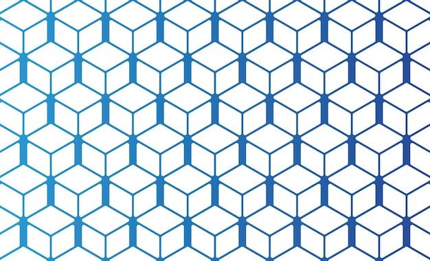 Wektor tła tapety o strukturze plastra miodu można edytować