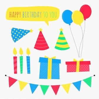Wektor urodzinowy clipart
