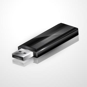 Wektor usb flash drive ilustracja