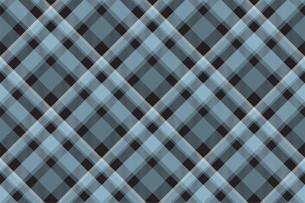 Wektor wzór kratki w szkocką kratę. tkanina w tle retro.