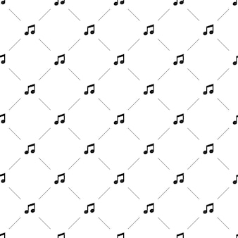 Wektor wzór, muzyka, edytowalny może być używany do tła stron internetowych, wypełnienia deseniem