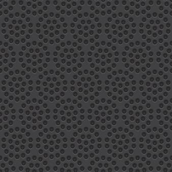 Wektor wzór perforowany materiał bez szwu