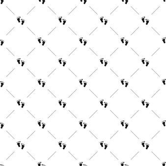Wektor wzór, ślad, edytowalny może być używany do tła stron internetowych, wypełnienia deseniem