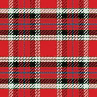 Wektor wzór szkocki tartan