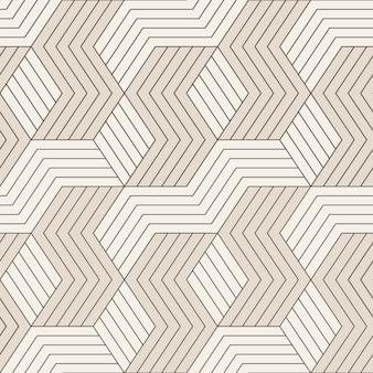 Wektor wzór wzór z symetrycznymi liniami geometrycznymi. powtarzające się geometryczne płytki.