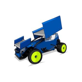 Wektor zabawek samochodowych