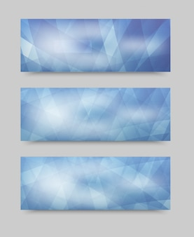 Wektor zestaw geometryczny zestaw. szablon broszury