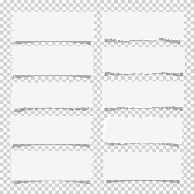 Wektor zestaw różnych dokumentów biały uwaga, elementy projektu