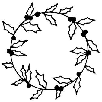 Wektor zestaw różnych ręcznie rysowanych jesiennych elementów do dekoracji rzemiosła.