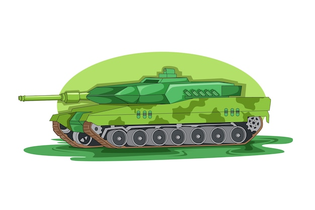 Wektor zielony pojazd armii amerykańskiej