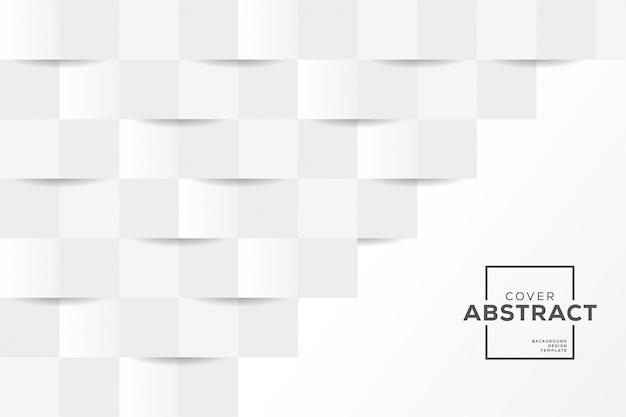 Wektorowa ilustracja abstrakcjonistyczny elegancki biały szary tło