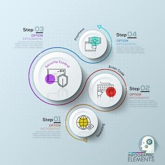 Wektorowi elementy dla infographic.