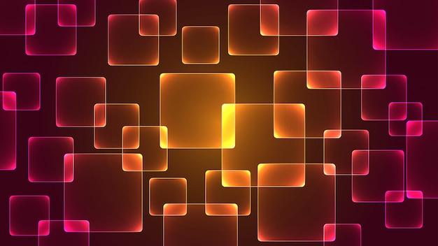 Wektorowy abstrakcjonistyczny geometryczny tło