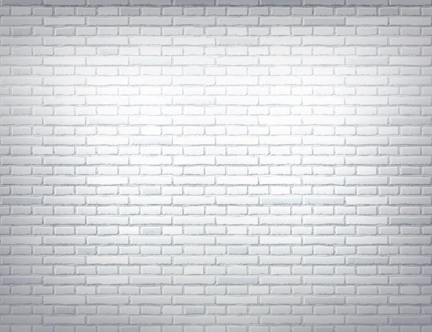 Wektorowy biały ściana z cegieł tekstury projekt