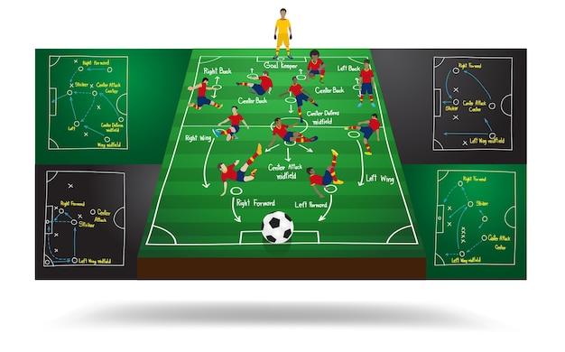 Wektorowy hiszpański drużyna narodowa. piłka nożna gracz futbolu