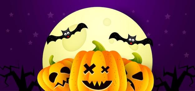 Wektorowy ilustracyjny tło halloween