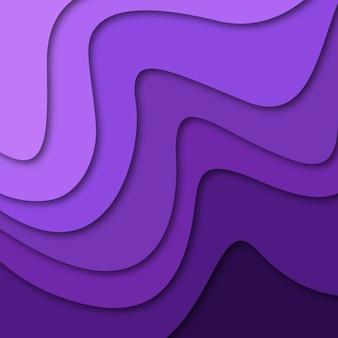 Wektorowy kolorowy papercut tło