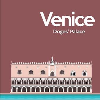 Wenecja wzór tła