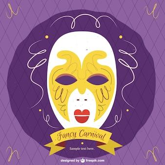 Weneckie maski karnawałowe w stylu antycznym