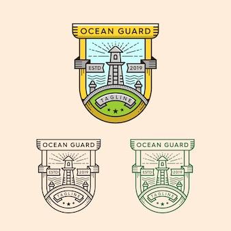 Wersja z logo latarni morskiej