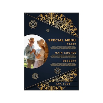 Wertykalne menu na 25-lecie