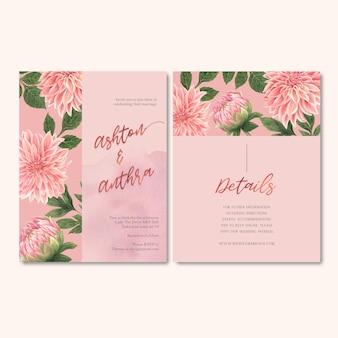 Wesele kwiaty z pastelowymi liśćmi