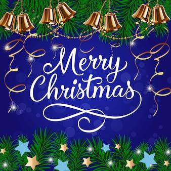 Wesołe kartki świąteczne z dzwoneczkami