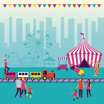 Wesołe miasteczko circus
