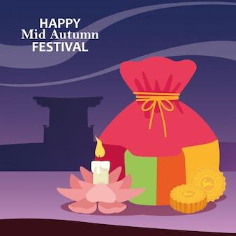 Wesołego festiwalu w połowie jesieni