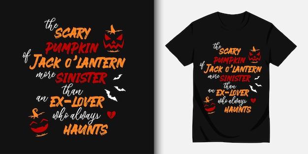 Wesołego halloween i projekt koszulki