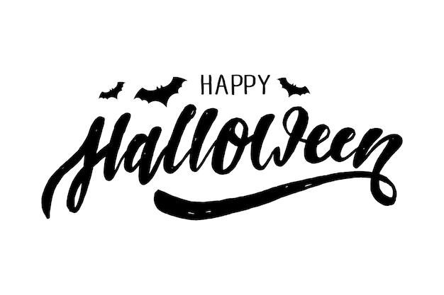 Wesołego halloween napis